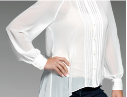 M&Co celebrates the return of the white blouse