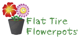 Flat Tire Décor launches Flowerpots by Flat Tire