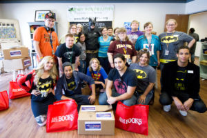 National Batman Day Brings Books to Plano's My Possibilities