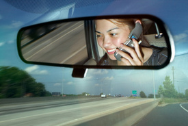 Study: Distracted Driving Doubles Drivers' Reaction Time