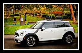 Mark Jordan and MINI Cooper Countryman