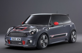 MINI Souped up JCW Beats Jaguar SK-R Time