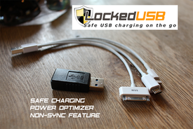 Innovative USB Adapter helps reduce charging time and keep your Data Secure