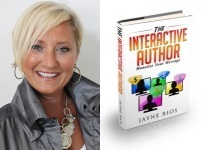 "Jayne Rios Launches New Book, ""The Interactive Author"" in January"