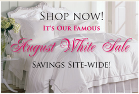 Student special over – August White Sale savings continue!