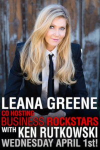 Leana Greene Co-Hosts Business Rockstars