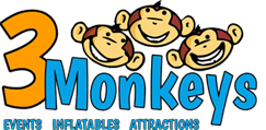 3 Monkeys Inflatables Updates Website to Handle the Busy Spring Season Bookings Online